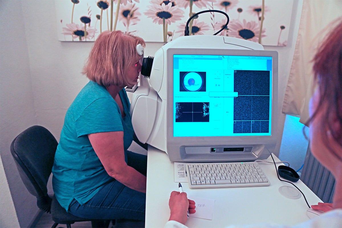 badanie oczu - okulistyka Gniezno